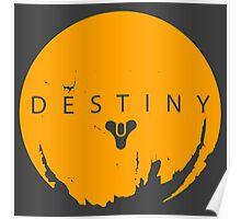 Destiny - Yellow Logo by AronGilli Poster