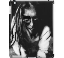 The wisperer (self portrait) iPad Case/Skin