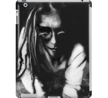 The wisperer (self portrait) iPad Case/Skin