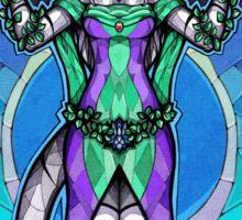 Anthro tiger-goddess Sticker