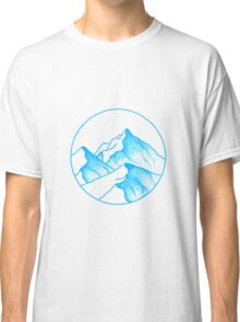 Alps Asunder Classic T-Shirt