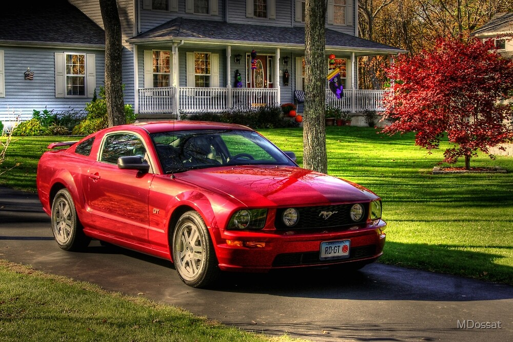 The Stang in HDR by MDossat