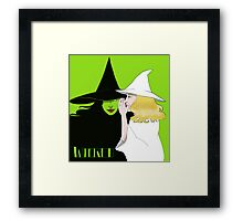 no one mourns the wicked Framed Print