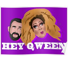 Hey Qween! Lady Red & Jonny McGovern Poster