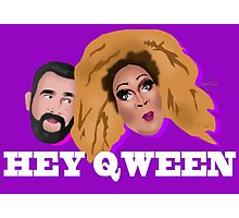 Hey Qween! Lady Red & Jonny McGovern Photographic Print