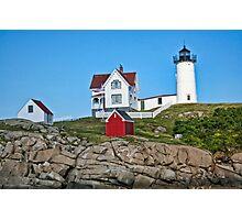 Nubble Lighthouse Photographic Print