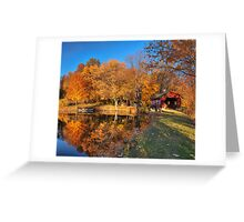 Boat Ride of Colors Greeting Card