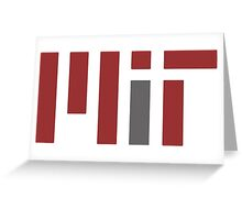 MIT (Massachusetts Institute of Technology) Greeting Card