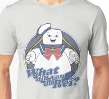 What did you do Rei? Unisex T-Shirt