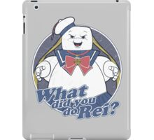 What did you do Rei? iPad Case/Skin