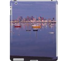 Boston and boats iPad Case/Skin
