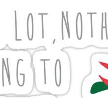 The Lorax Quote Sticker
