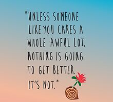 The Lorax Quote by tehmomo
