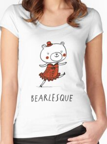 Bearlesque Women's Fitted Scoop T-Shirt