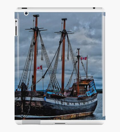Docked iPad Case/Skin