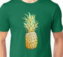 Isolated colorful image of pineapple. Unisex T-Shirt