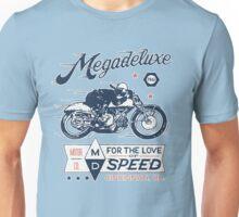 Megadeluxe Vintage Motorcycle Unisex T-Shirt