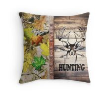 Hunting Throw Pillow