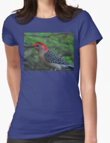 Red-Bellied  Womens Fitted T-Shirt
