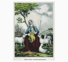 Good shepherdess - 1846 Kids Tee