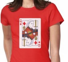 Emma of diamonds Womens Fitted T-Shirt