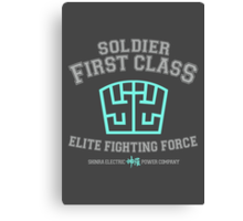 Soldier First Class Canvas Print