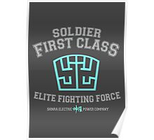 Soldier First Class Poster
