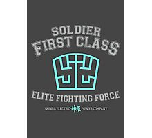 Soldier First Class Photographic Print