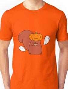 Ghost Pumpkin Squirrel Unisex T-Shirt