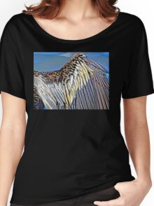 Male Anhinga Wing Women's Relaxed Fit T-Shirt