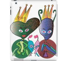 The Space Royal Family iPad Case/Skin