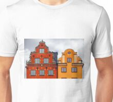 Stockholm. Colorful Houses in Gamla Stan Unisex T-Shirt