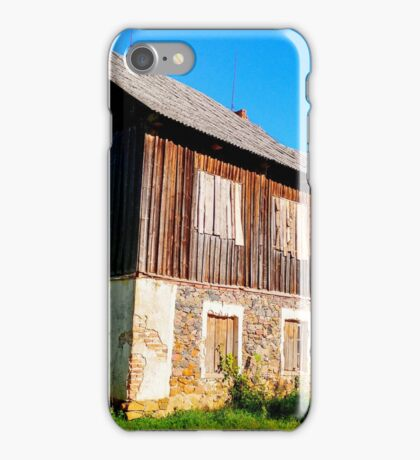 Churches extension iPhone Case/Skin