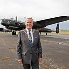 Maylor Of Bromley With Lancaster Bomber  by Keith Larby
