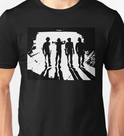 A Clockwork Orange silhouettes Unisex T-Shirt