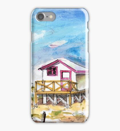 House On Stilts By Gruissan iPhone Case/Skin