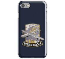 H-4 Hercules Spruce Goose flying boat iPhone Case/Skin