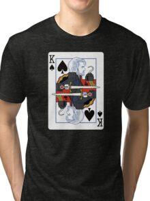 Dark One of spades Tri-blend T-Shirt