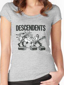 Descendents Cartoon Women's Fitted Scoop T-Shirt