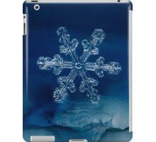 Blue Ice Snowflake iPad Case/Skin
