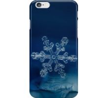 Blue Ice Snowflake iPhone Case/Skin