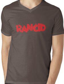 Rancid Logo Mens V-Neck T-Shirt