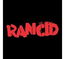 Rancid Logo Photographic Print
