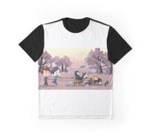 Walking Dogs Graphic T-Shirt