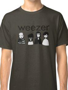 Blue Cartoon Classic T-Shirt