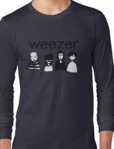 Blue Cartoon Long Sleeve T-Shirt
