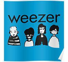 Blue Cartoon Poster