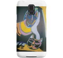 Man & His Cat Samsung Galaxy Case/Skin