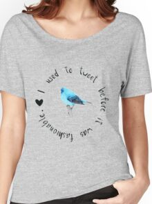 Blue Bird Women's Relaxed Fit T-Shirt