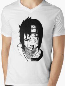 Sasuke X Itachi X Brothers Bond Mens V-Neck T-Shirt